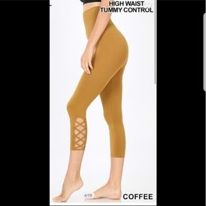 Pants - Coffee Leggings
